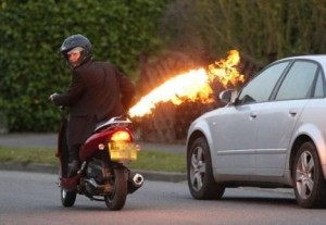 flame-throwing-scooter